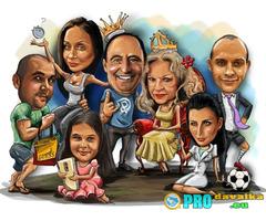 Изработка на карикатури по поръчка imaproart (DisasterArt)