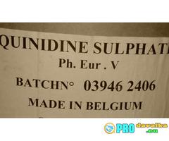 Хинидин сулфат /Quinidine sulphate, Квинидин, Хинин/ чист 99 % на прах.