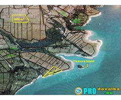 Продавам земя на брега на яз.